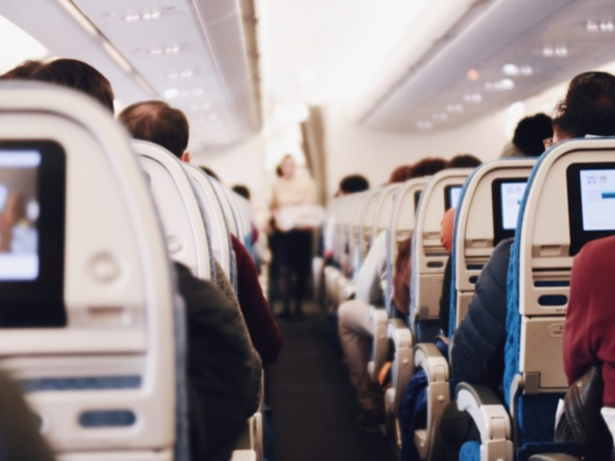 What's the risk of catching a virus in a plane