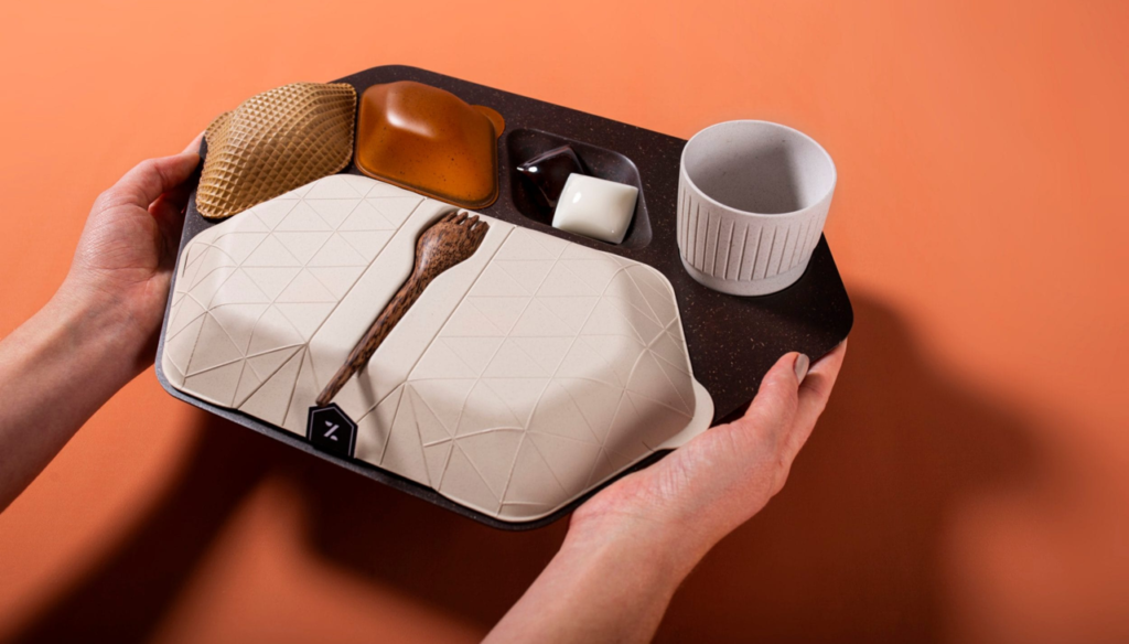 sustainable travel and the future of in flight food tray designs
