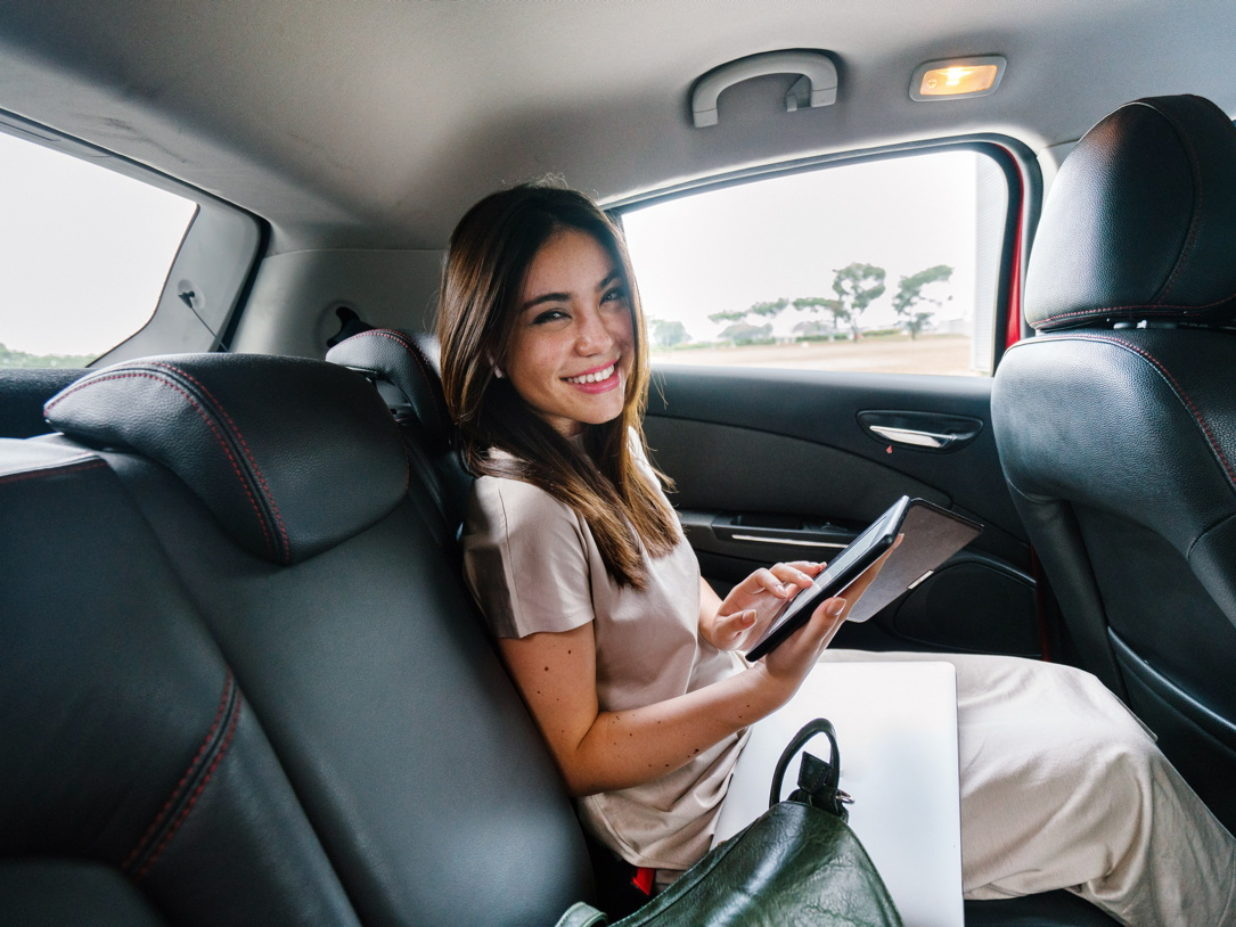 Do you use ridesharing apps for business trips?